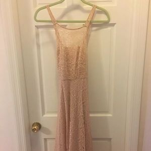 ✨SALE Only Hearts blush pink lace dress